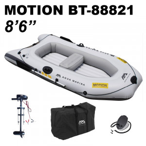 "Aqua Marina Motion Sports & Fishing Boat 8'6"" 2021 (Electric Motor Included)"