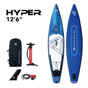 "Aqua Marina Hyper 12'6"" Inflatable SUP"